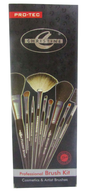 Christine 9 Artistic Brush Kit(Front)