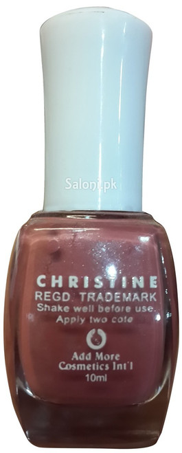 Christine Nail Polish no 178 back