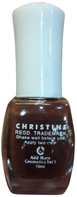 Christine Nail Polish no 1150  back