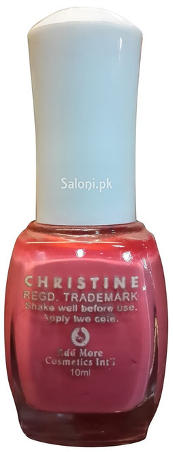 Christine Nail Polish no 107 back