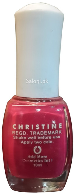 Christine Nail Polish no 1116 back