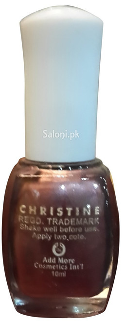 Christine Nail Polish no 111 Back