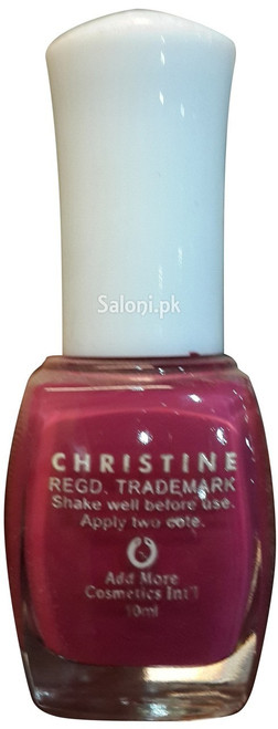 Christine Nail Polish no 1101 Back