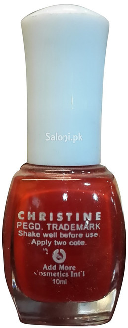 Christine Nail Polish no 117 Back