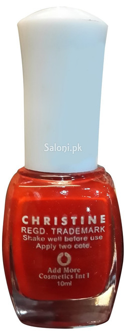 Christine Nail Polish no 1108 Back