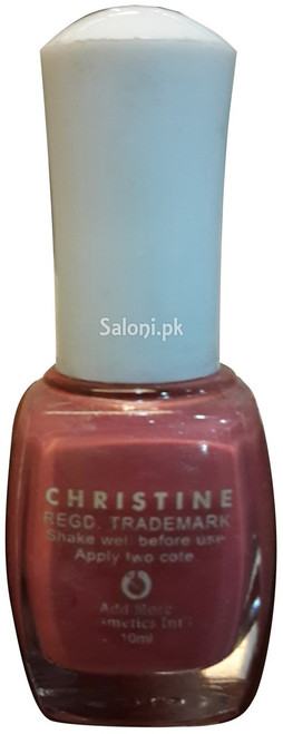 Christine Nail Polish no 224 BAck