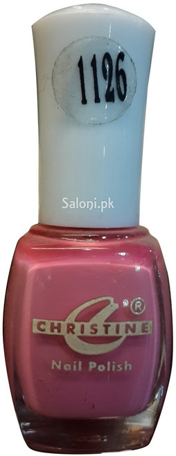 Christine Nail Polish no 1126 Front