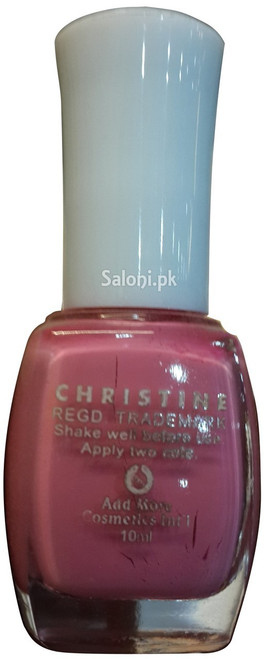 Christine Nail Polish no 1126 Back