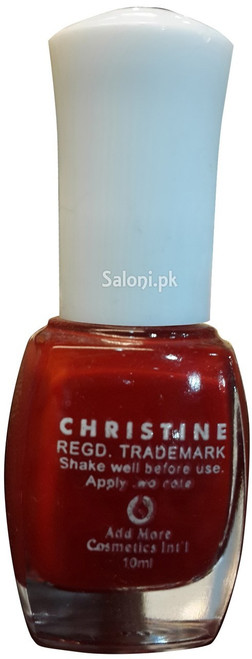 Christine Nail Polish no 1151 Back