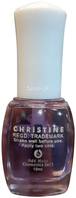 Christine Nail Polish no 118 Back