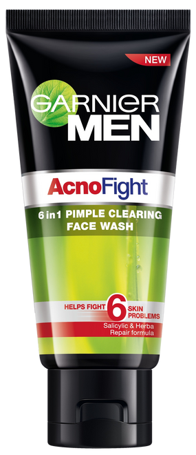 Garnier Men Acno Fight 50ml 6 In 1 Pimple Clearing Face Wash Buy online in Pakistan best price original product