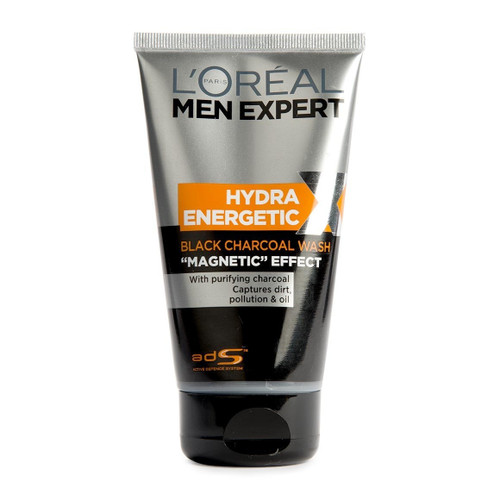 L'oreal Paris Men Expert Hydra Energetic Black Charcoal Magnetic Effect Wash Buy Online In Pakistan Best Price Original Product