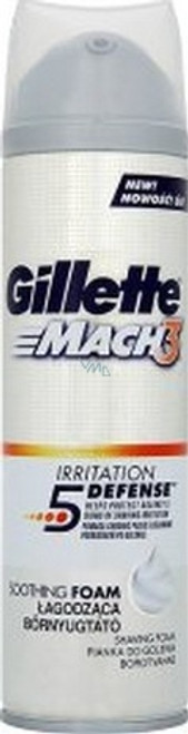 Gillette Mach3 Foam Irritation Defense 250 ML Best Price