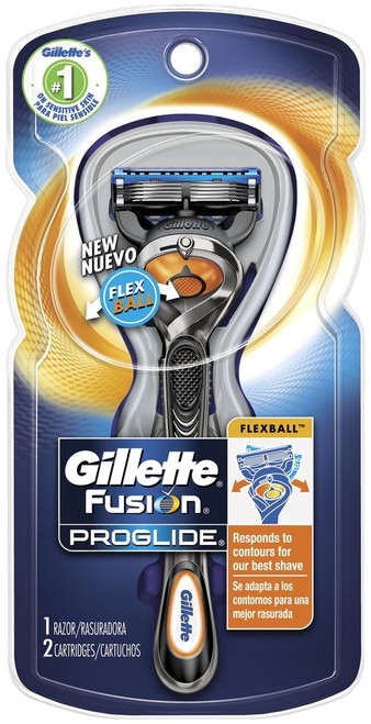 Gillette Fusion ProGlide Manual Men's Razor with Flexball Handle Original Product