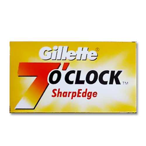 Gillette 7 O'Clock SharpEdge Razor Blade Best Price