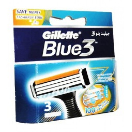 Gillette Blue 3 System Carts 3 Best Price