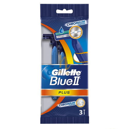 Gillette Blue2 Plus Razor Bag Of 3 Buy Online In Pakistan