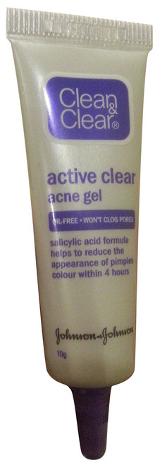 Clean & Clear Active Clear Acne Gel 10g  Original Product