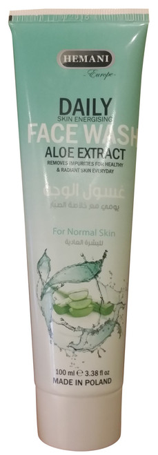 Hemani Natural Daily Face Wash Aloe Extract 100ML buy online in pakistan