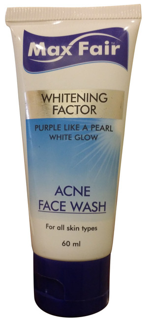 Max Fair Whitening Factor Acne Face Wash Buy online in Pakistan