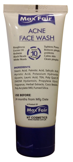 Max Fair Whitening Factor Acne Face Wash best price original product
