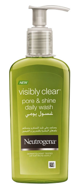 Neutrogena Visibly Clear Pore & Shine Daily Wash (200 ML)  Buy Online In Pakistan Best Price Original Product