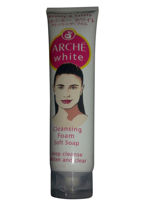 Arche White Cleansing Foam Soft Soap  Buy Online In Pakistan Best Price Original Product