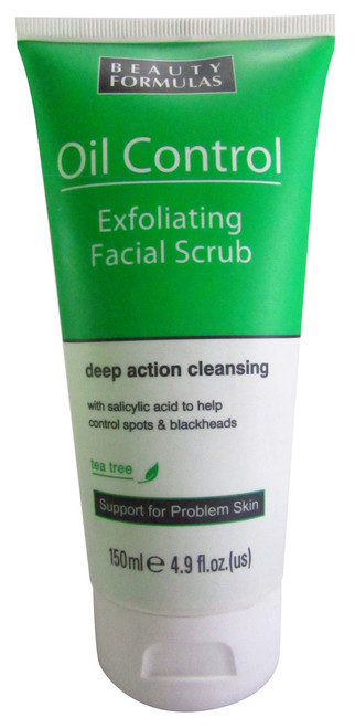 Beauty Formulas Oil Control Exfoliating Facial Scrub Buy online in Pakistan