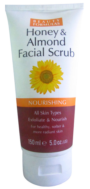 Beauty Formulas Honey & Almond Facial Scrub Buy online in Pakistan