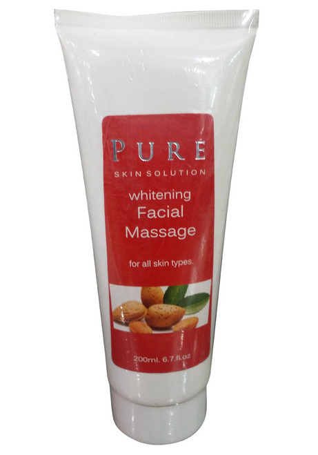 Pure Skin Solution Whitening Facial Massage
