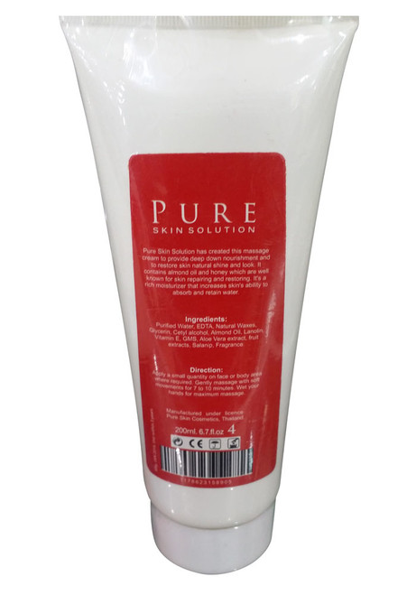 Pure Skin Solution Whitening Facial Massage Back
