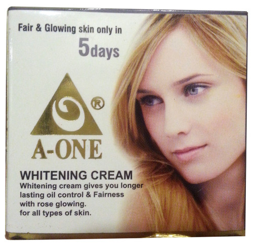 A- One Whitening Cream Fair & Glowing Skin original products
