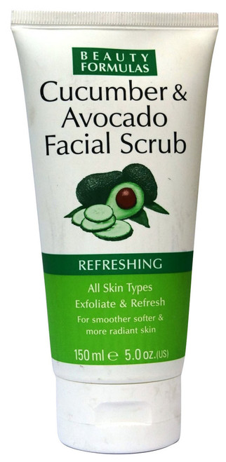 Beauty Formulas Cucumber & Avocado Facial Scrub Buy online in Pakistan best price original product