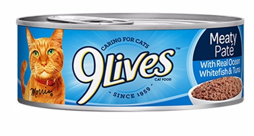 9lives Meaty Paté With Real Ocean Whitefish & Tuna 140g  Buy online in Pakistan  best price  original product