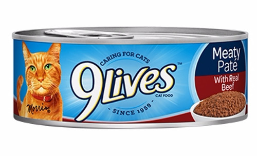 9lives Meaty Paté With Real Beef 140g Buy online in Pakistan  best price  original product