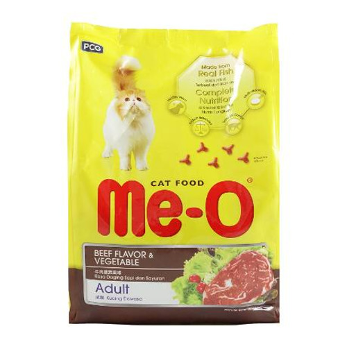 Me-O Adult Cat Food Beef & Vegetable Flavor  Buy online in Pakistan  best price  original product