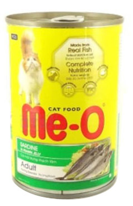 Me-O Adult Cat Food Sardine In Prawn Jelly 400g Buy online in Pakistan  best price  original product