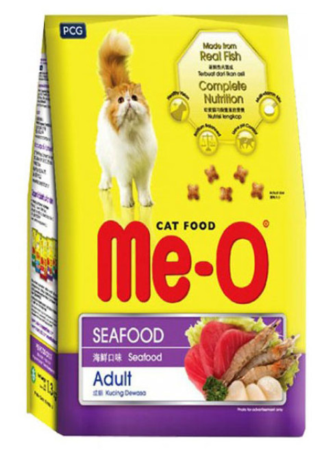 Me-O Adult Cat Food Seafood  Buy online in Pakistan  best price  original product