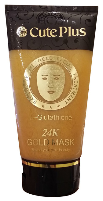 Cute Plus L-Glutathione 24K Gold Mask 150ML buy online in Pakistan best price