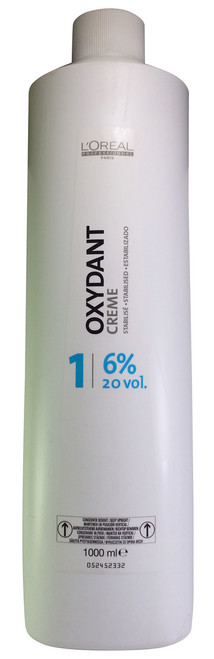 L'oreal Professionnel Oxydant Cream 1 (6% 20 vol) 1000 ML shop online in Pakistan best price