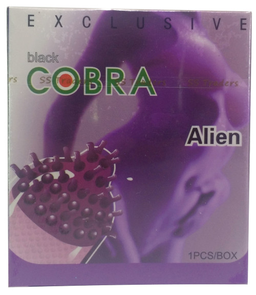 Black Cobra Alien Spike Condom 1 Piece shop online in Pakistan best price