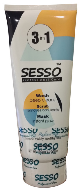 Sesso 3 in 1 Wash Scrub Mask 150ML