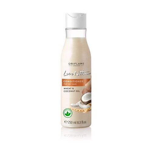 Oriflame Love Nature Conditioner For Dry Hair (Wheat & Coconut Oil) 250 ML