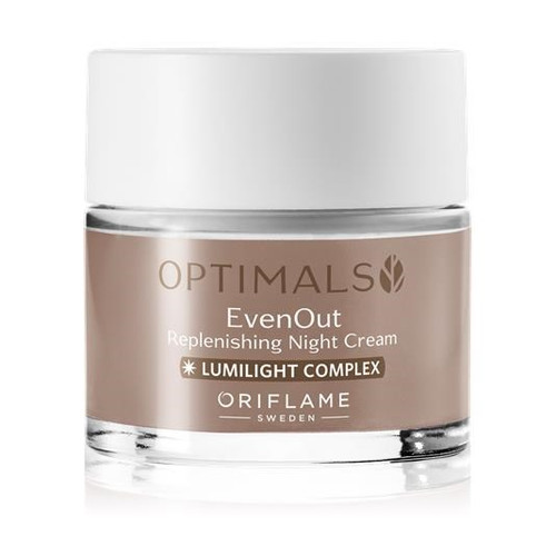 Oriflame Sweden Optimals Even Out Replenishing Night Cream