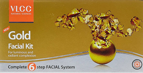 VLCC Gold Facial Kit 6 In 1 shop online in Pakistan