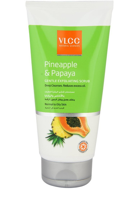 VLCC Pineapple & Papaya Gentle Exfoliating Scrub 150 ML shop online in Pakistan best price original product