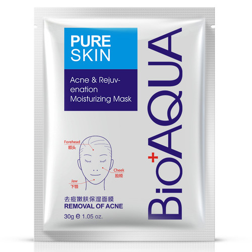 Bioaqua Acne & Rejuvenation Moisturizing Mask 30g shop online acne mask in pakistan genuine products