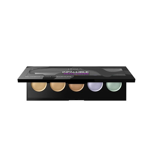 L'Oreal Paris Infallible Total Cover Concealer Palette best loreal concealer in pakistan
