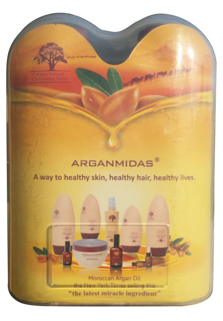 Arganmidas Moroccan Argan Oil Shampoo & Conditioner 50ml Pack original products best price