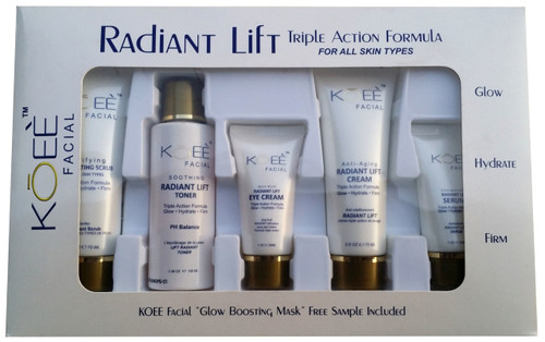 Koee Radiant LIft Facial Kit buy best anti ageing facial kit in pakistan